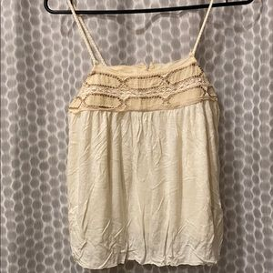American Eagle Outfitters embroidered tank